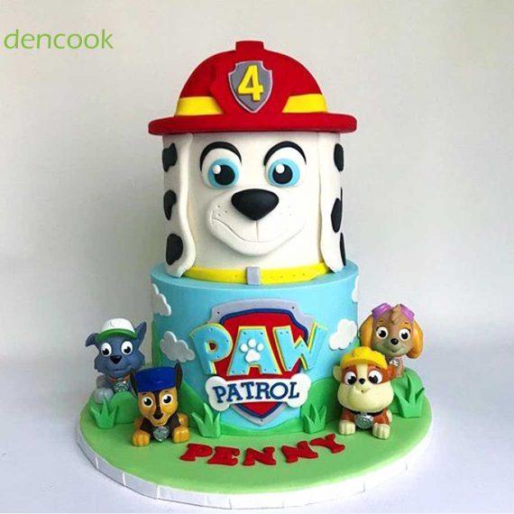 کیک سگهای نگهبان